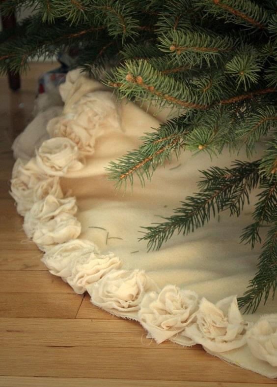 Dicas de Tapetes para Árvore de Natal