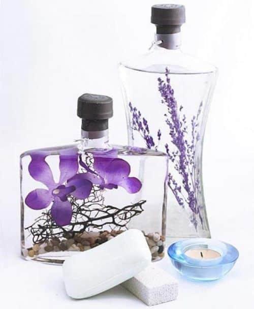 Adesivos De Parede Personalizados Infantil ~ Como Fazer Artesanato com Vidros de Perfume