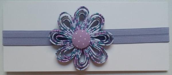 Artesanato Flor de Viés