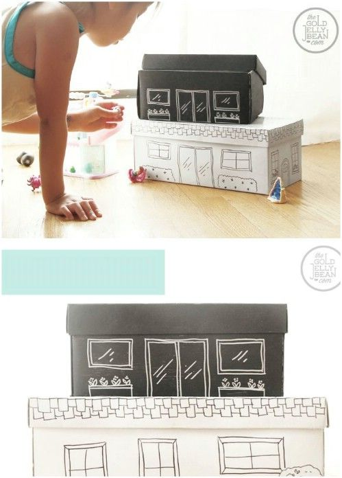 Dicas de Artesanato com Caixa de Sapato