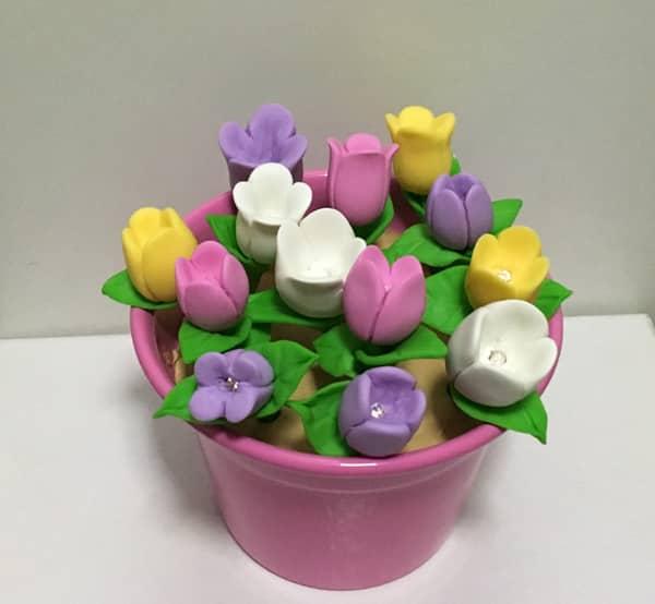 Opções de Biscuit de Flor