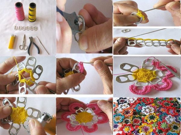 Dicas de Como Fazer Artesanato com Anéis de Latinha