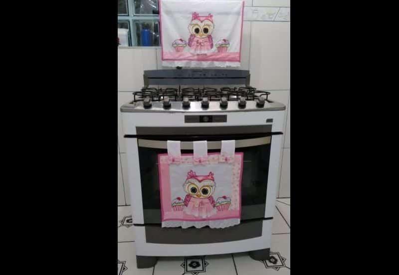 Artesanato Jardim Camburi ~ Como Fazer Artesanato em Tecido para a Cozinha