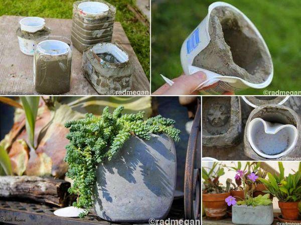 Artesanato Em Argila ~ Como Fazer Artesanato para Jardim