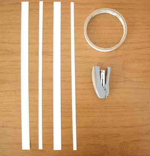 como fazer um laço de fita
