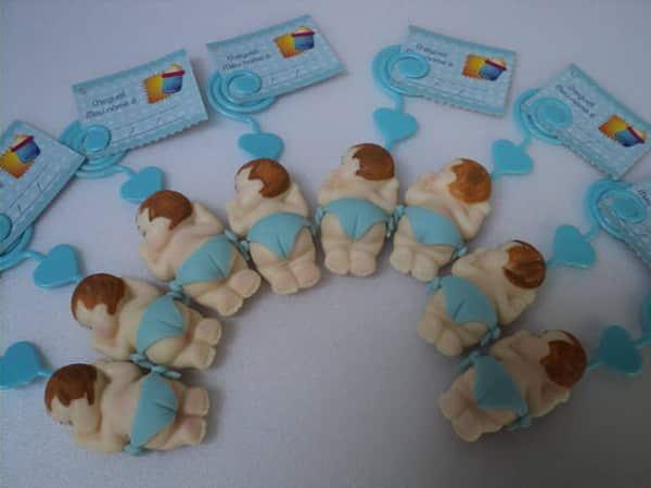 lembrancinha de recem nascido em biscuit