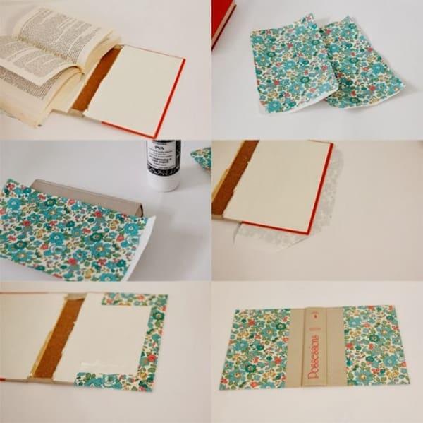 Bolsa De Papelão E Tecido Passo A Passo : Bolsa de tecido com z?per passo a