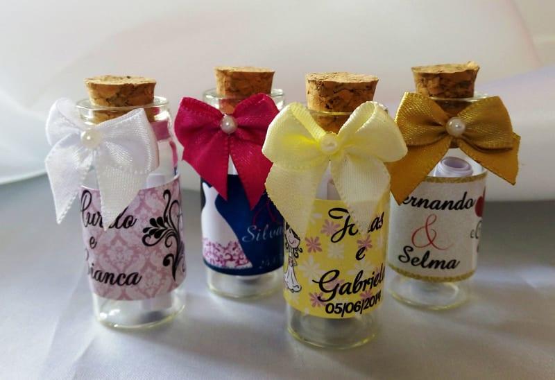 lembrancinha de casamento de perfume