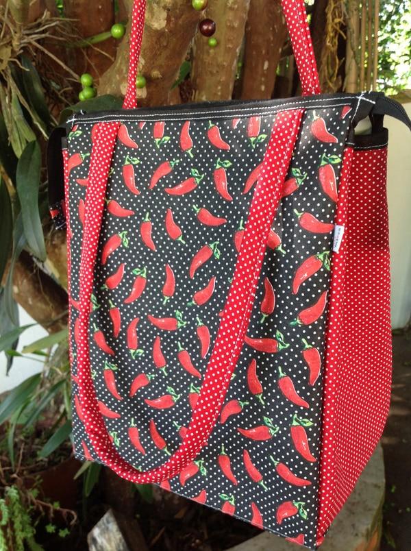 Bolsa De Tecido Com Ziper : Bolsa de tecido com z?per passo a