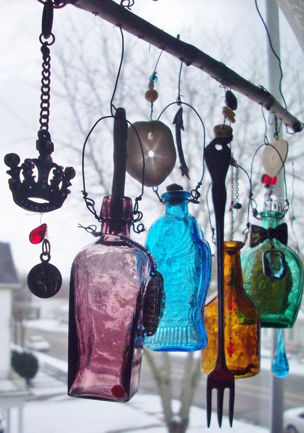 mobile de garrafa