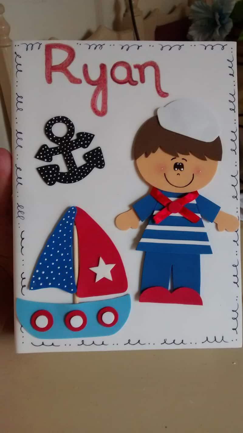 caderno com eva navy