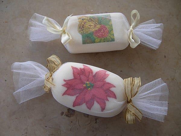 sache aromatico com sabonete inteiro