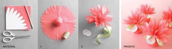 lembrança para casamento flor