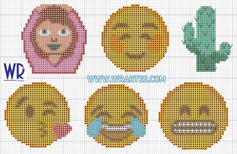 emoji ponto cruz
