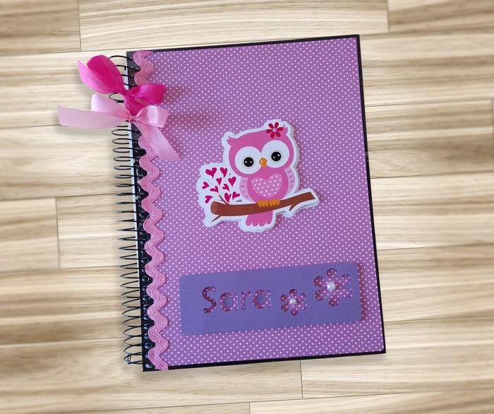capa caderno de arame