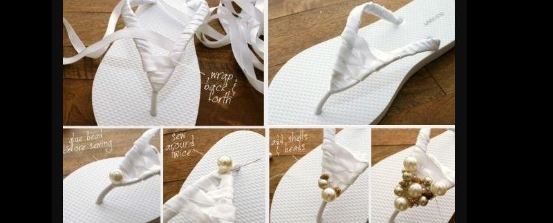 chinelo bordado com passo a passo
