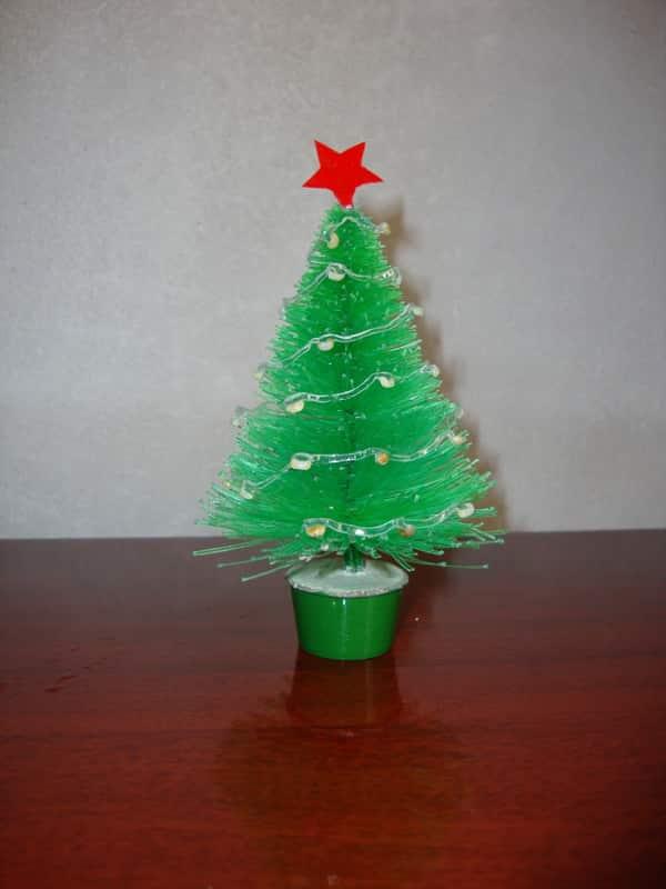 lembrancinha de pet para Natal arvore