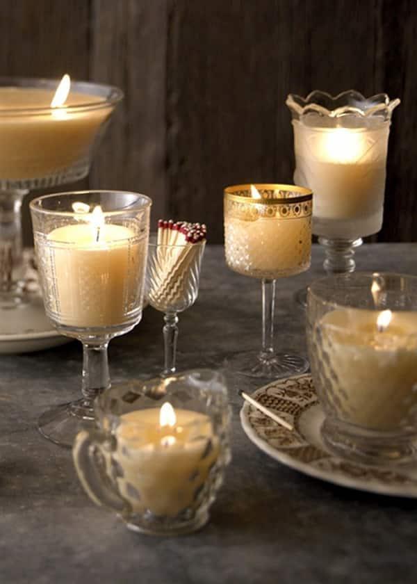 Como fazer velas decoradas - Dekoration kerzen ...