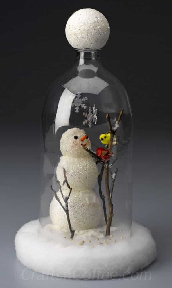 lembrancinha de pet para Natal boneco de neve