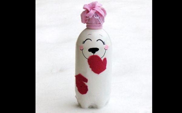 lembrancinha de pet para Natal boneco de neve simpatico