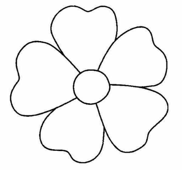 Muito Molde de Flores para Imprimir SD55