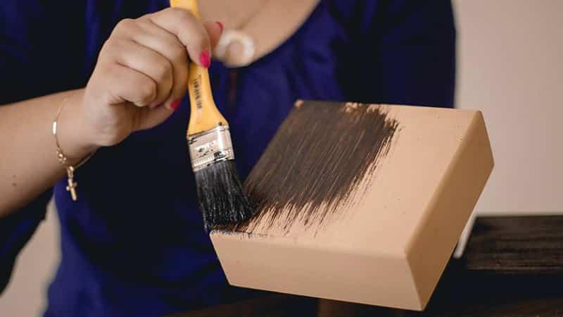 como fazer pintura em mdf envelhecida