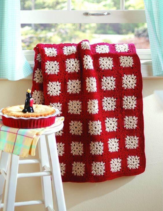 como fazer colcha de croche
