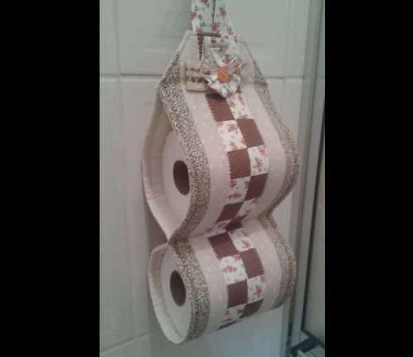 porta papel higiênico patchwork