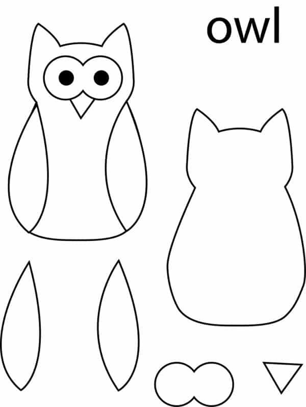 Favoritos Como Fazer Desenhos de Corujas 7 - Como fazer artesanatos HV34