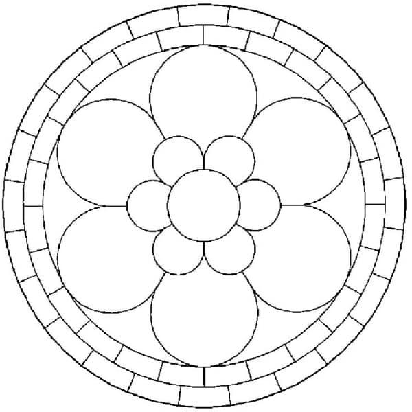 como fazer mosaico de papel