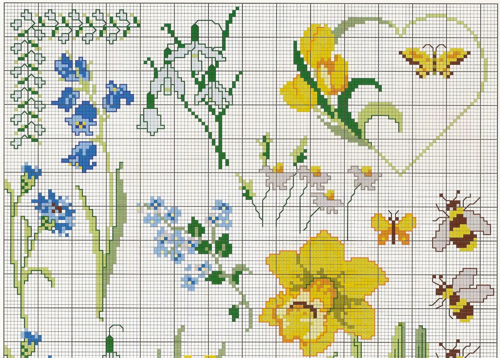 Flores Em Ponto Cruz 25 Ideias E Como Fazer