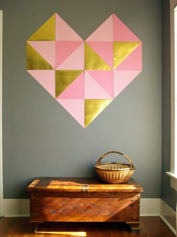 mosaico de papel parede