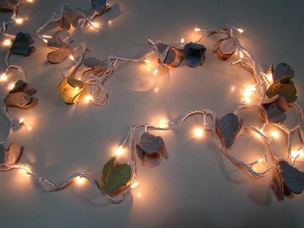 flores de caixa de ovo cordao