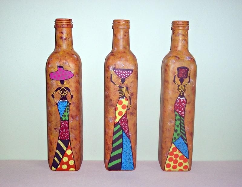 garrafa diferente