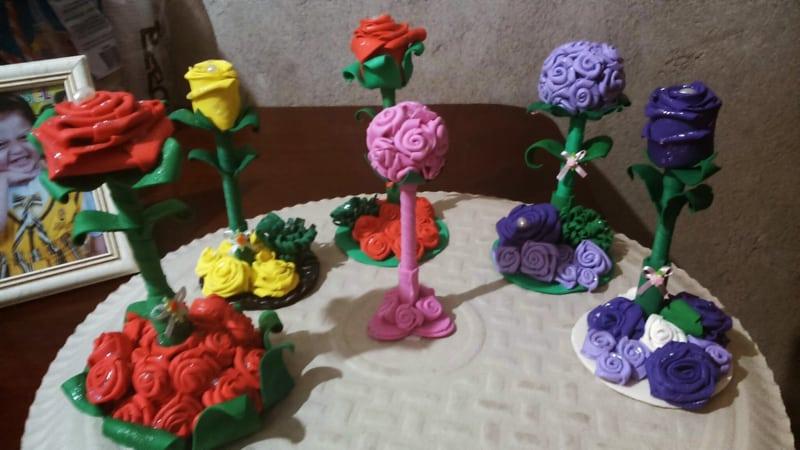 modelos de flor de eva
