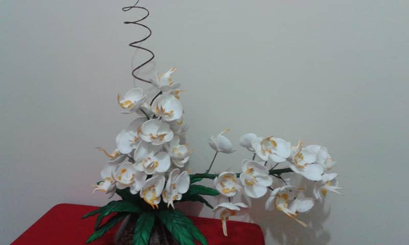 flor de eva como fazer