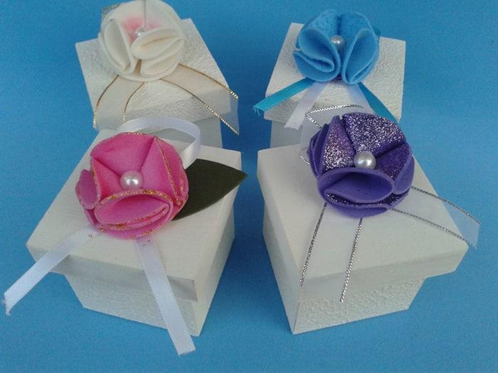 flor de eva na caixa