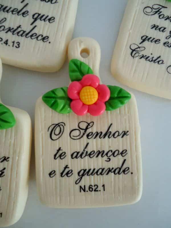 lembrança dia da mulher biscuit