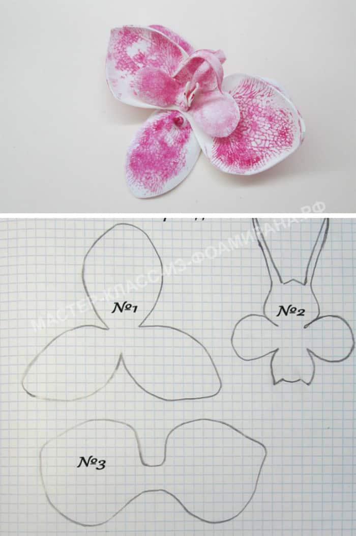 Flores De Eva Molde E Como Fazer