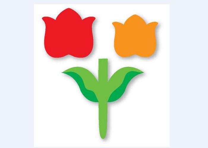 molde flor de eva painel