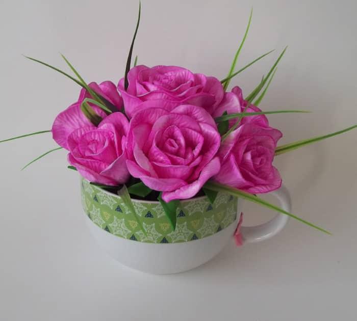 flor de eva na xicara