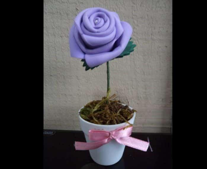 flor de eva roxa