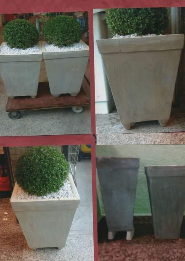 vaso de cimento grandes