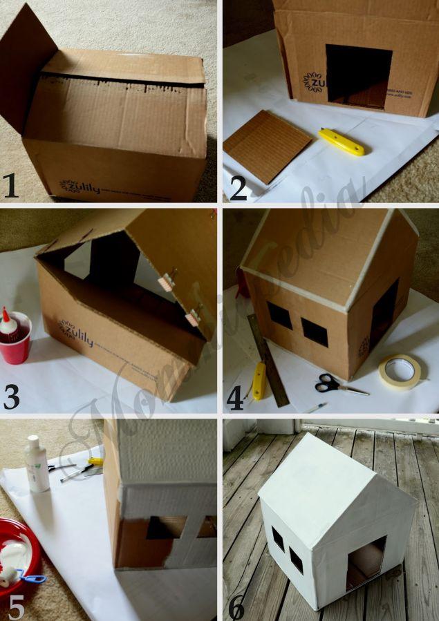 Casa De Cachorro Como Fazer 30 Ideias