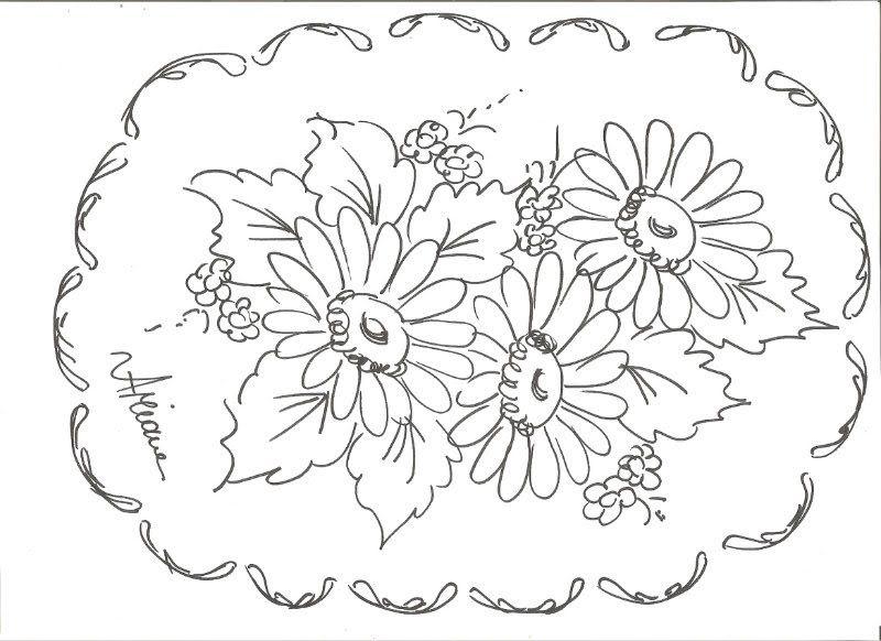 Desenhos Para Pano De Prato 30 Modelos Para Imprimir