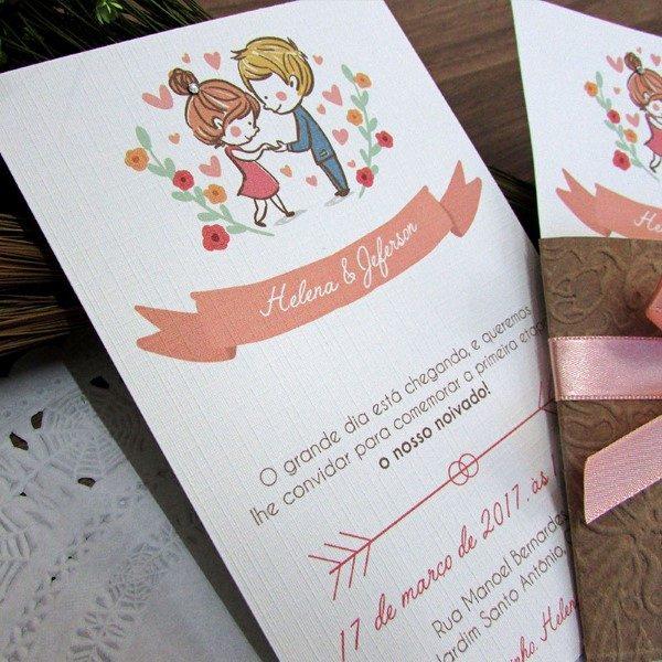 convite_noivado_love