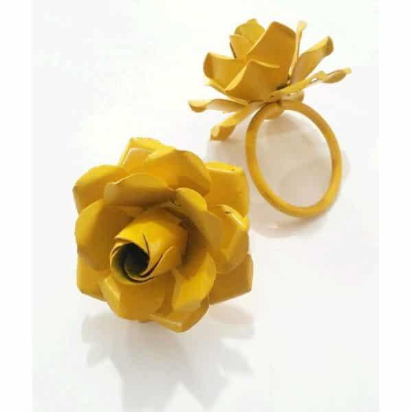 porta_guardanapo_flor_amarelo