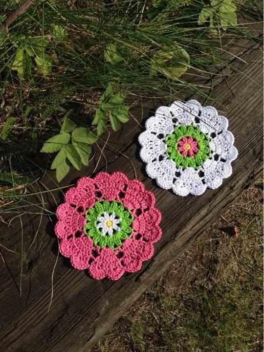 flor de croche simples