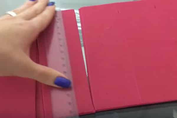 Sétimo passo lareira de papelão