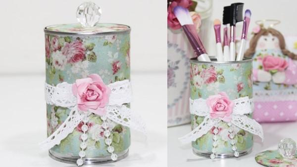 lata de leite condensado decorada